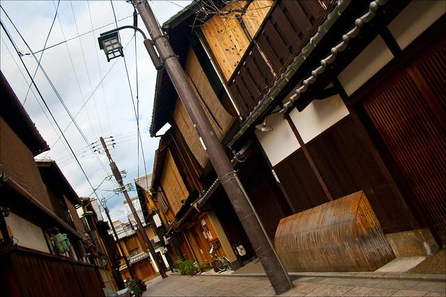 Callejuelas de Gion, llenas de ochaya y okiya
