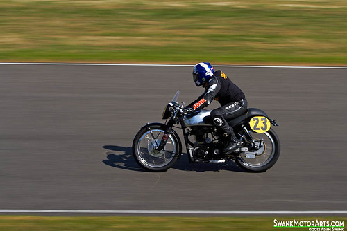 1954 Velocette MSS by autoidiodyssey