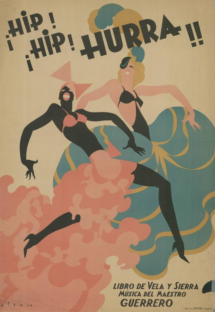Cartel de ¡Hip! ¡Hip! ¡Hurra! (1935)