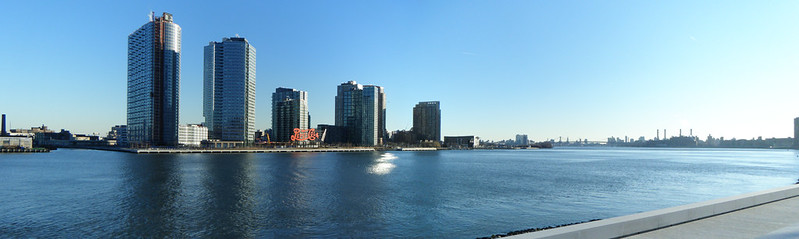 Long Island City from Roosevelt Island