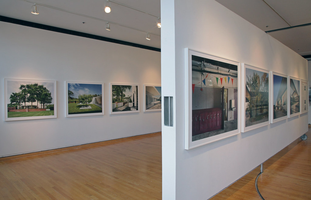 A view of the exhibition in John Hartell Gallery.
