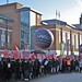 Save Lewisham Hospital: Unison balloons