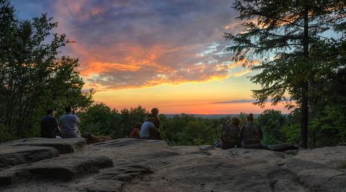 sunset nature nikon hdr cuyahogavalleynationalpark virginiakendall photomatix nikond90 ledgesoverlook