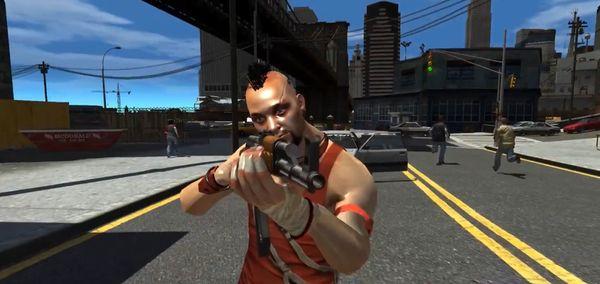Far Cry 3 в GTA 4