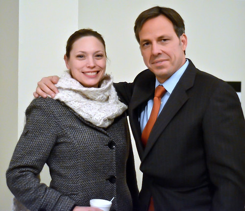 Tania meets Jake Tapper