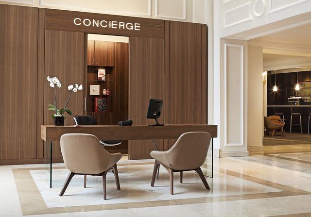 Angle Finder App >> Le Meridien Brussels—Concierge Desk | Flickr - Photo Sharing!