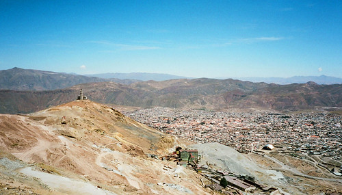 red southamerica rooftops bolivia clay potosi cerrorico
