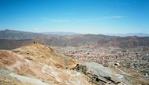 red southamerica rooftops bolivia clay potosi cerrorico