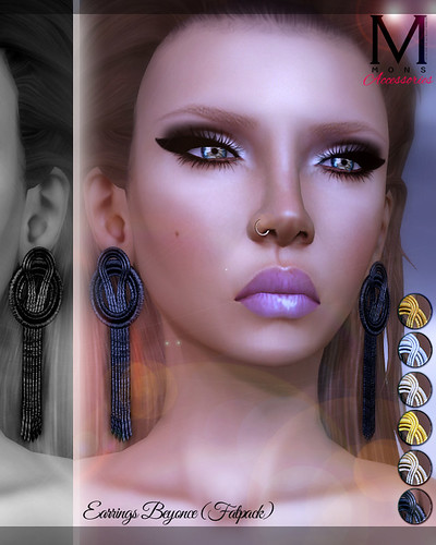 MONS / Earrings Beyonce (Fatpack) by Ekilem Melodie - MONS