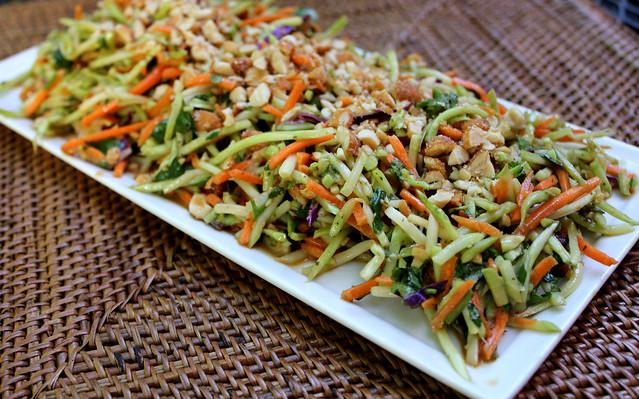 Broccoli slaw asian salad