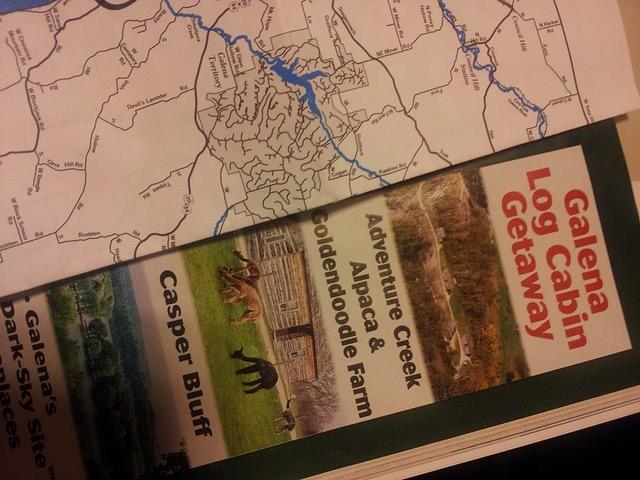 Galena Log Cabin Getaway Information