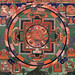 018-018-17th century Tibetan -Five Deity Mandala-in the center is Rakta Yamari embracing his consort Vajra Vetali,-Rubin Museum of Art