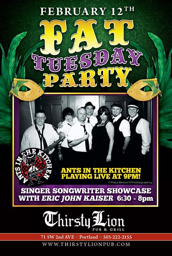 Portland Fat Tuesday Party @ Thirsty Lion