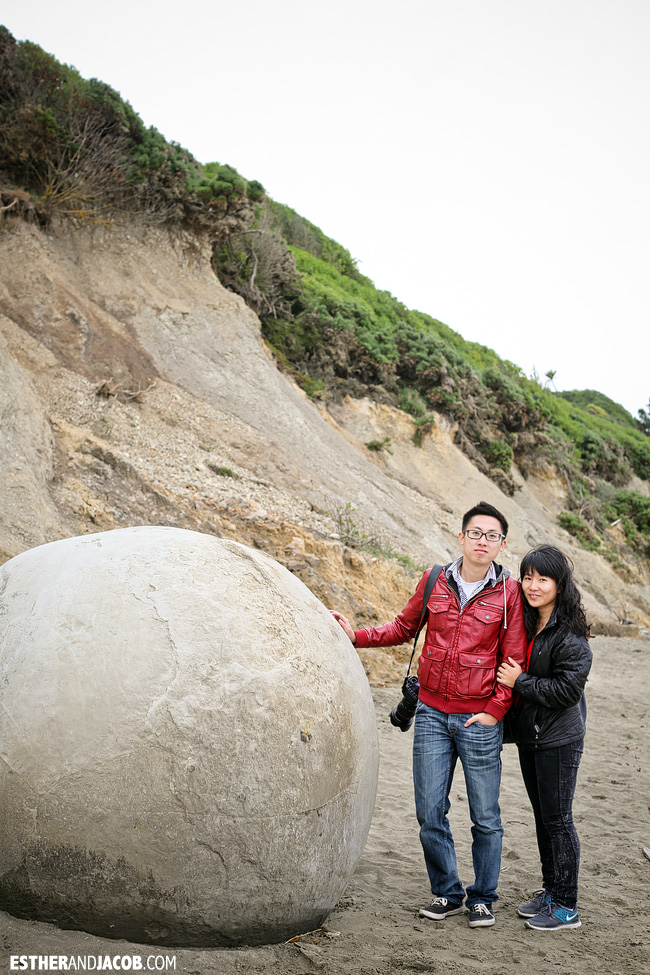 Moeraki Boulders | Day 2 New Zealand Contiki Tour | Lake Ohau to Dunedin | A Guide to South Island