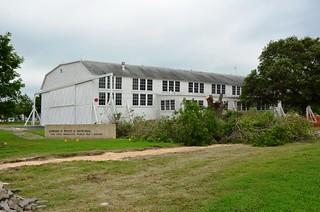 U. S. Air Force, (former) Brooks Air Force Base, Texas, Hanger No. 9; Edward White II Memorial