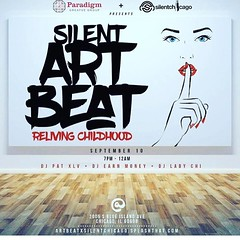 Sept 10 silent #art #event featuring @honorole and many more! contact @marcusrashad_ for more info :heart_eyes: