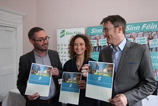 Eoin Ó Broin TD, Lynn Boylan MEP and David Cullinane TD