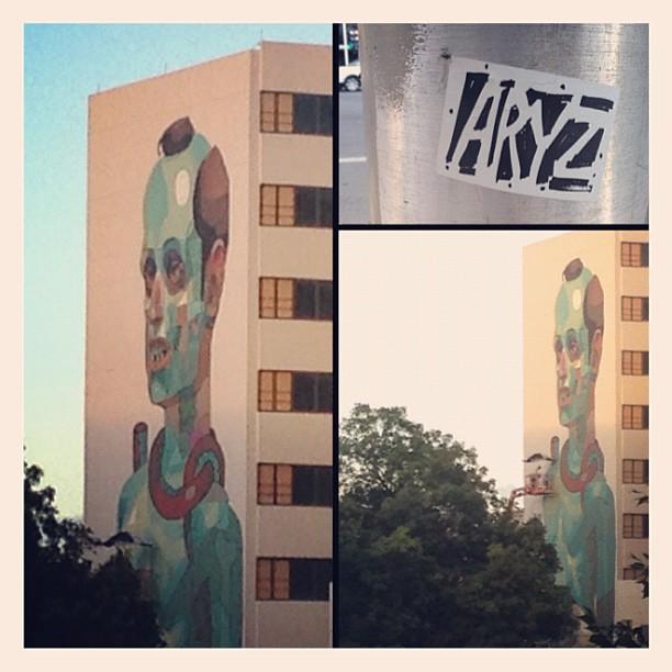 #aryz #santurce #ciudadella #losmuroshablan #españa #puertorico @vmirielle #slapper
