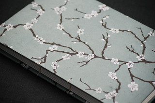 Cherry Blossom Coptic Sketchbook by Kleiner Eisbar