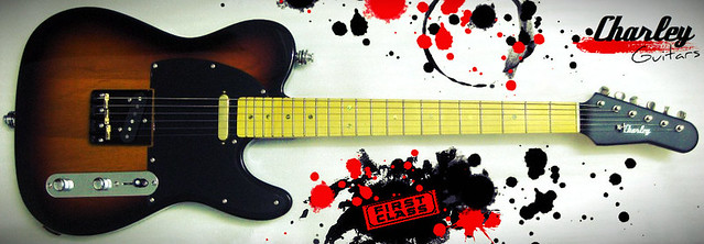 Photo:【Charley Guitars】 CT-2 / Pro Sound Quality Guitar By Charley Guitars