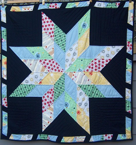 my baby boy's quilt FRONT