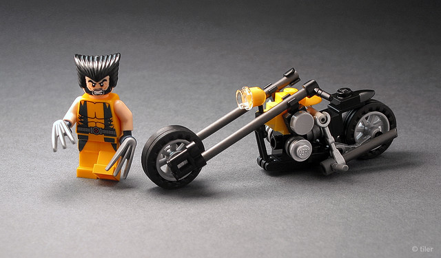 Мотоцикл из лего своими руками видео