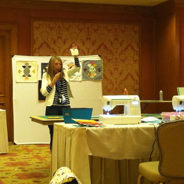 Curves Class with @sometimescraftr #sewingsummit
