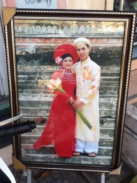 越南结婚照
