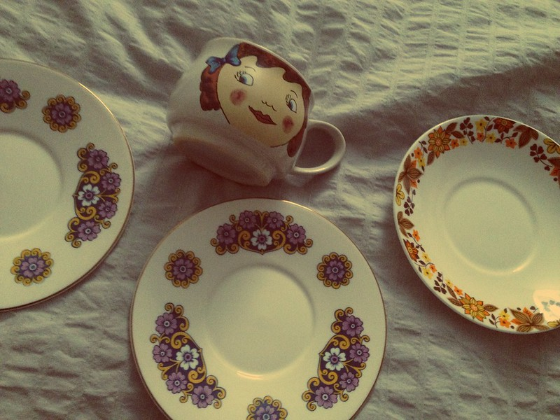 charity shop saucers