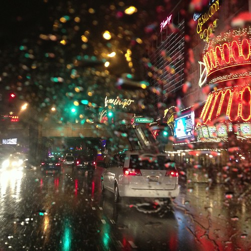 Vegas rain by scoodog / digging iPhoneography