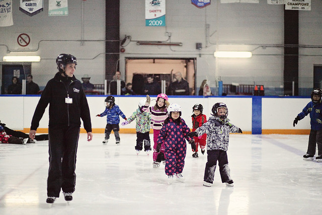 2nd year skating class