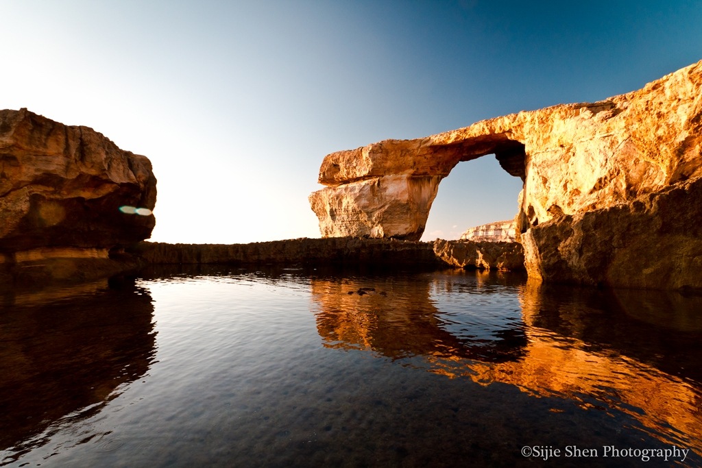 Stunning Scenic - Azure Window at Sunset