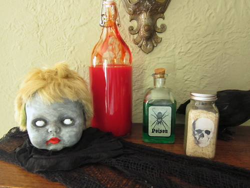 Halloween Mantle 2012