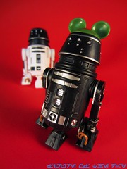 Black R5 Series Astromech Droid