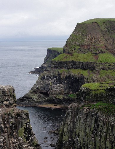 Cliffs at Rathlin Island RSPB site