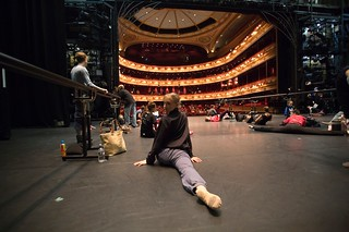 The Royal Ballet in Class on the Royal Opera House Main Stage c Andre Uspenski 2012