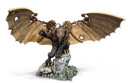 BioShock Infinite on PS3: Songbird Statue