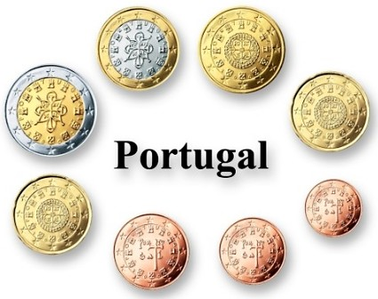 Sada euro mincí Portugalsko
