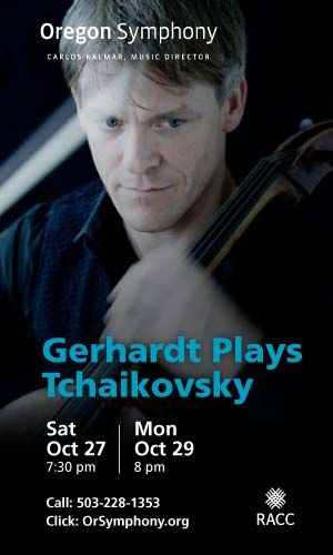 Gerhardt Plays Tchaikovsky @ Oregon Symphony