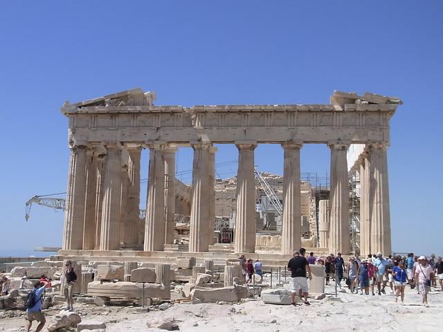Parthenon, Temple of Athena Parthenos in Athens:パルテノン神殿 ...