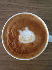 Today's latte, Bad Piggies.