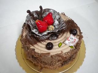 生日蛋糕 巧克力核桃
