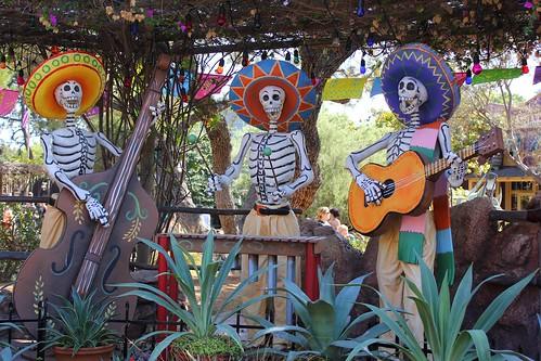Dia de Los Muertos at Disneyland