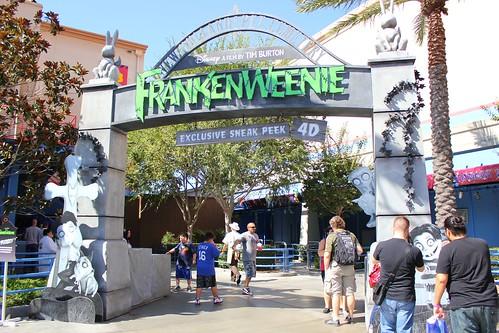 Frankenweenie exhibit
