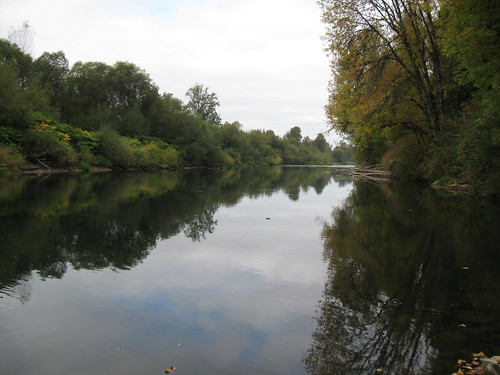 Autumn Bicycle Camping Day 1 - The Chehalis River