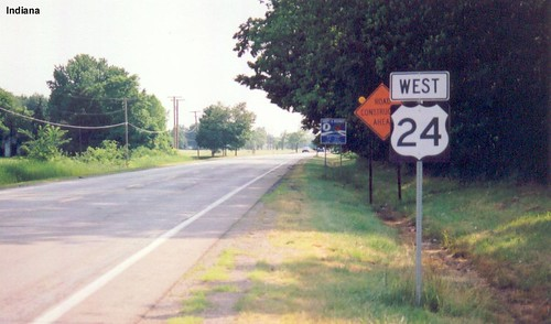 Route For Me >> US 24 in Indiana