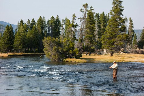 Fishermen,  Yellowstone