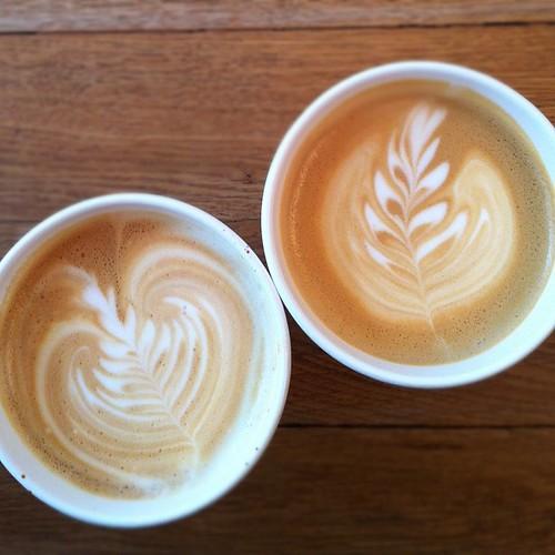 Had to get my Parlour Coffee fix! #winnipeg #parlour #fine #coffee #latte