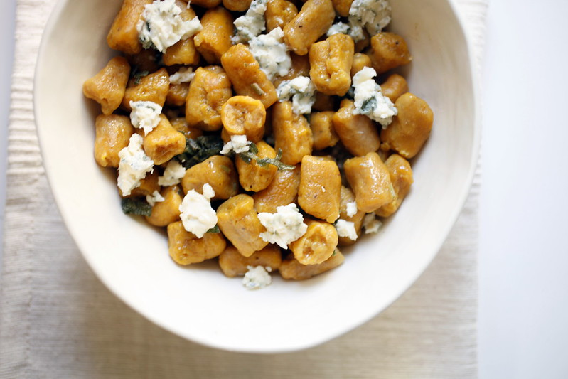 pumpkin gnocchi with brown butter sage sauce | love.life.eat