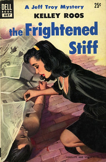 Dell Books 687 - Kelley Roos - The Frightened Stiff